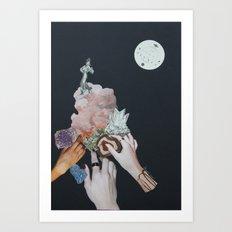 3 Fairy Godmothers Art Print