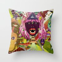 The Circus #02 Throw Pillow