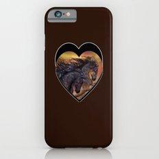 HORSES - On sugar mountain iPhone 6 Slim Case