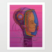 Biometric Signatureaction Formation Art Print
