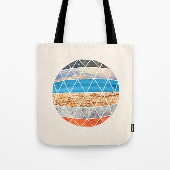 Eco Geodesic  Tote Bag
