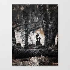 Cemetery Angel Canvas Print