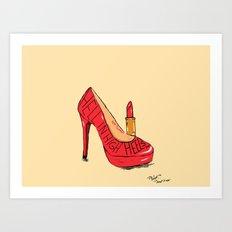 Sweet Heels Art Print