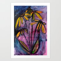 Night Blooms Art Print