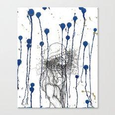 Rain Walker Canvas Print