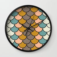 Autumn Chirp Wall Clock