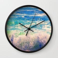 Aqua Mist Wall Clock