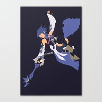 Kingdom Hearts - Aqua Canvas Print