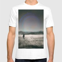 It Beckons Mens Fitted Tee White SMALL