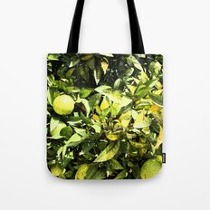 Oranges In Production Tote Bag