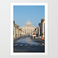 St. Peter's In The Early… Art Print
