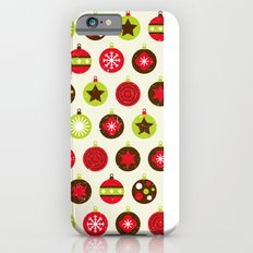 Christmas Baubles iPhone 6s Slim Case