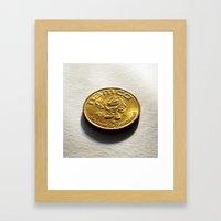 E.L.T. (Emergency Lucky Token) Framed Art Print