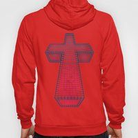 The White Cross of Justice Hoody