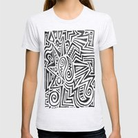 ART TRIBE Womens Fitted Tee Ash Grey SMALL