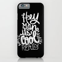 iPhone Cases featuring HEY MAN HEY MAN HEY... by Matthew Taylor Wilson