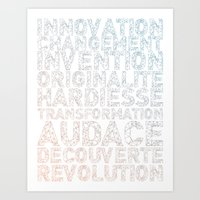 INNOVATION - SYNONYMS Art Print