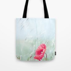 Thoughtful Poppy Tote Bag