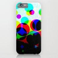 iPhone & iPod Case featuring Dots by PurplePiratePlatymonkey