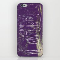 We love Nature iPhone & iPod Skin