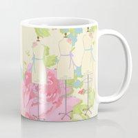 Sewing Room Dress Forms Mug