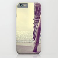 Pier at Sunrise with Glitter iPhone 6 Slim Case