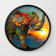Elephant's Dream Wall Clock