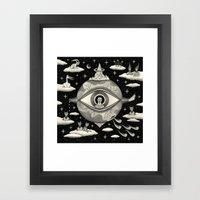 Some Sort of Mystical Explanation Framed Art Print