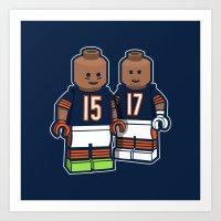 Bears Bricked: Brandon M… Art Print