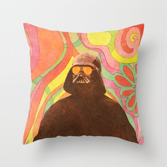 The Groovy Side Throw Pillow