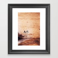 A-1 Framed Art Print