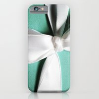 iPhone & iPod Case featuring Blue Box by Christine Leanne