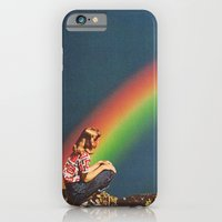 iPhone & iPod Case featuring NIGHT RAINBOW by Beth Hoeckel Collage & Design