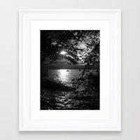 The Flood. Framed Art Print