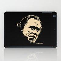 Bukowski#! iPad Case