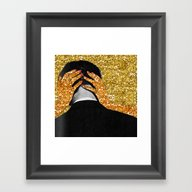 Framed Art Print featuring Dependable Relationship by Eugenia Loli