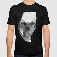 Out Of Yourself  Mens Fitted Tee Tri-Black SMALL