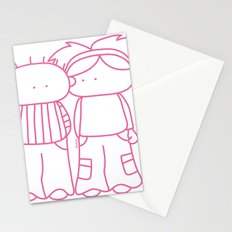 Rosy Love Stationery Cards