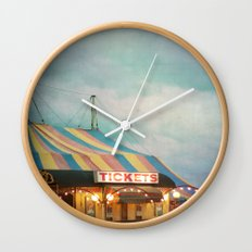 Tickets Wall Clock