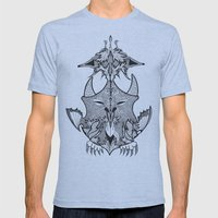 Creature Mens Fitted Tee Athletic Blue SMALL