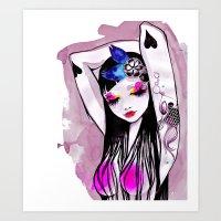 Aife Art Print