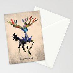I Am Legendary X - Geometric Stationery Cards