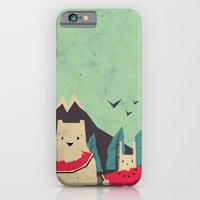 iPhone Cases featuring I want moaarrr! by Yetiland