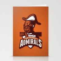 Mon Calamari Admirals On… Stationery Cards