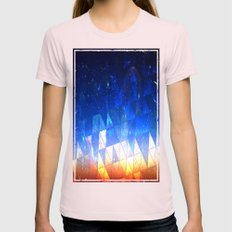 ALCHEMY Womens Fitted Tee Light Pink SMALL
