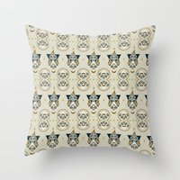 Eastern Masonic Throw Pillow