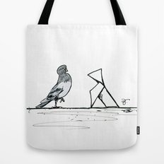 A Few Parisians: Beaubourg by David Cessac Tote Bag