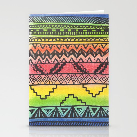 Tribal #3 Stationery Card