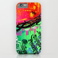 "iPhone & iPod Case featuring ""ACTION EXPRESSES PRIORITIES"" by Sababa Surf"
