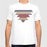 NATIVE MIND DREAM Mens Fitted Tee White SMALL